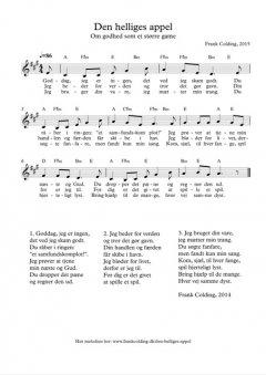 Melodi og becifring i G